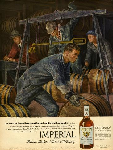 1940s usa imperial magazine advertisement for Imperial printing
