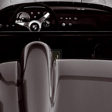 1960 Porsche Framed Art Print