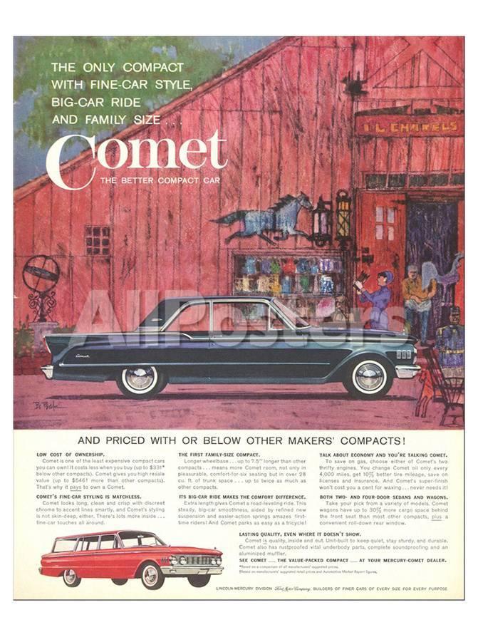 1961 Mercury-Comet Fine-Car…