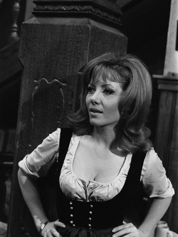 1968 Film Where Eagles Dare: Ingrid Pitt Valokuvavedos