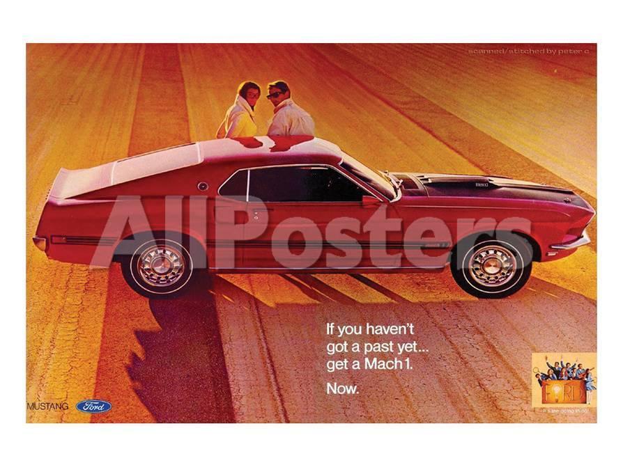 1969 Ford Mustang Mach 1 Arte en AllPosters.es