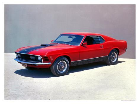 1970 Ford Mustang Mach 1 Giclee Print - at AllPosters.com.au