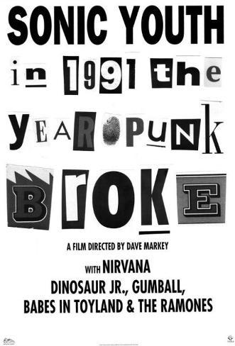 1991: The Year Punk Broke Masterprint