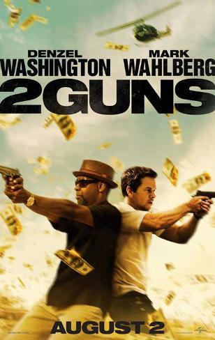 2 Guns Movie Poster Masterprint