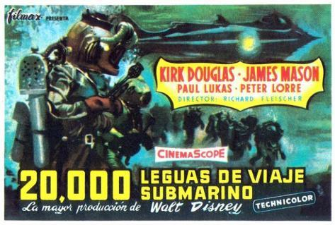 20,000 Leagues Under the Sea - Spanish Style Poster