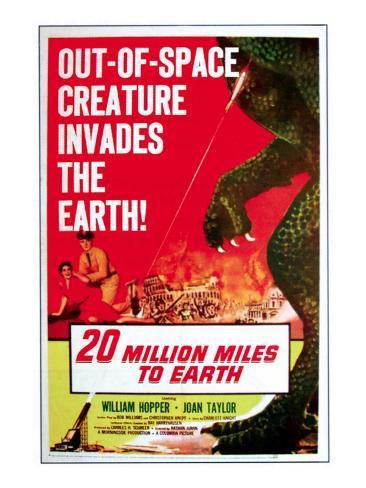 20 Million Miles to Earth, 1957 写真
