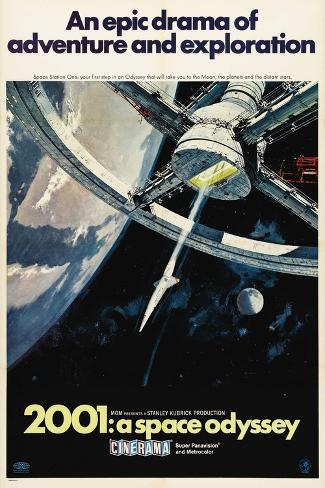 2001: A Space Odyssey, 1968 Gicléetryck