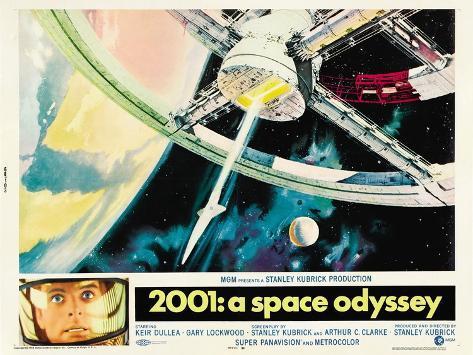 2001: A Space Odyssey, 1968 Art Print