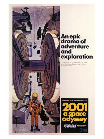 2001: A Space Odyssey, 1968 Art Print