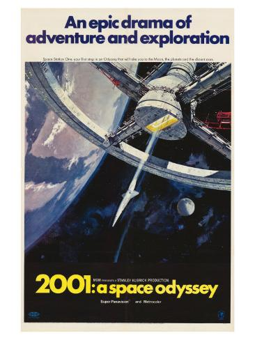 2001: A Space Odyssey, 1968 Premium Giclee Print