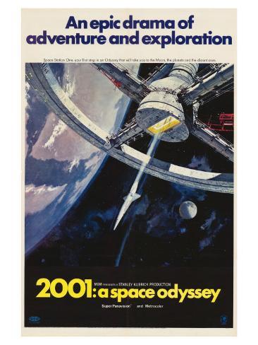 2001: A Space Odyssey, 1968 Lámina