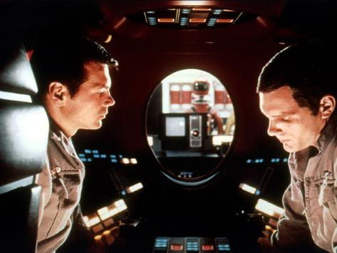 2001: A Space Odyssey, Gary Lockwood, Keir Dullea, 1968 Photo
