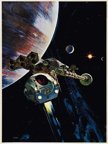 2001: A Space Odyssey, US poster, 1968 Poster