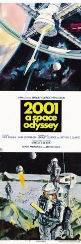 2001: A Space Odyssey, US poster, 1973 Taidevedos
