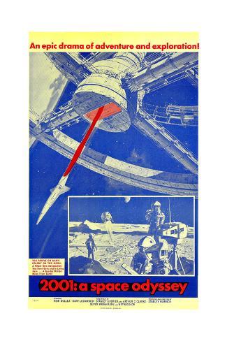 2001: a Space Odyssey Konstprint