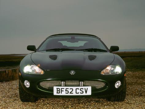 2002 Jaguar XKR Convertible Photographic Print