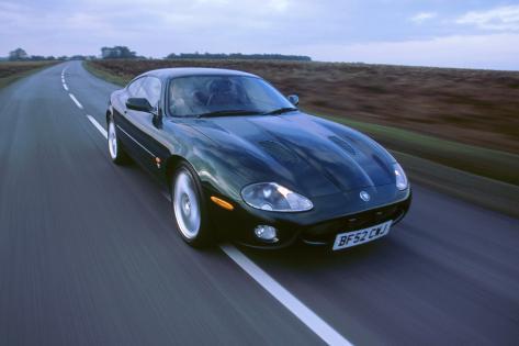 2002 Jaguar XKR Coupe Impressão Fotográfica