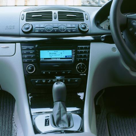 2003 Mercedes Benz E320 Cdi Avantgarde Impressão Fotográfica