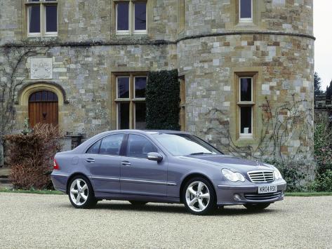 Lovely 2004 Mercedes Benz C230 Kompressor Impressão Fotográfica