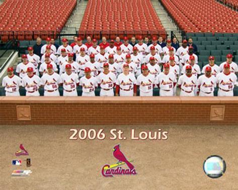 2006 Cardinals Team Photo Photo