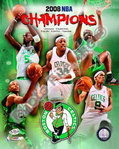 2007-08 Boston Celtics NBA Champions Photo - AllPosters.ca Vitor Faverani Celtics