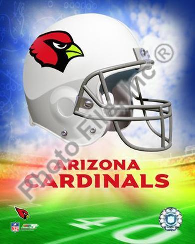 2009 Arizona Cardinals Team Logo Framed Photographic Print