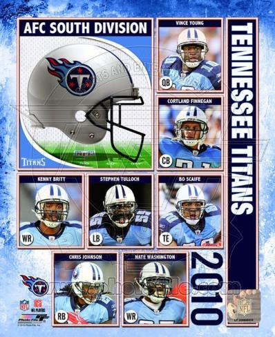 2010 Tennessee Titans Team Composite Photo