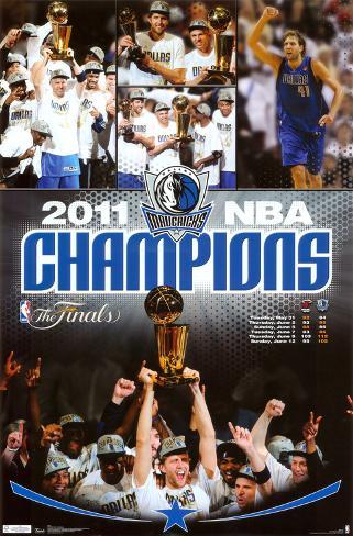 2011 NBA Finals - Celebration Poster
