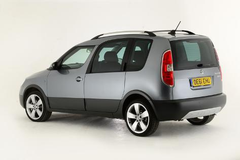 2011 Skoda Roomster Scout Photographic Print Allposters