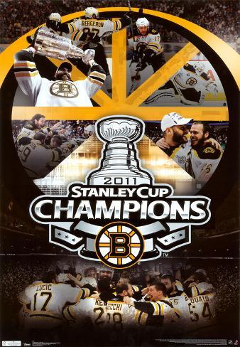 2011 Stanley Cup - Celebration Poster