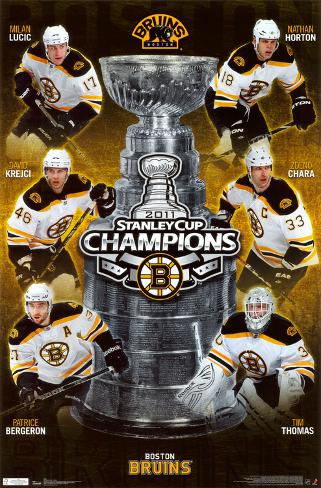2011 Stanley Cup - Champs Poster