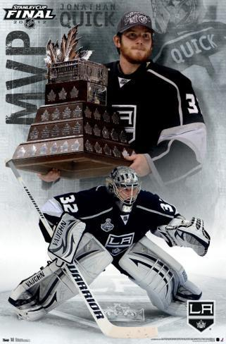 2012 Stanley Cup - MVP - Jonathan Quick Poster