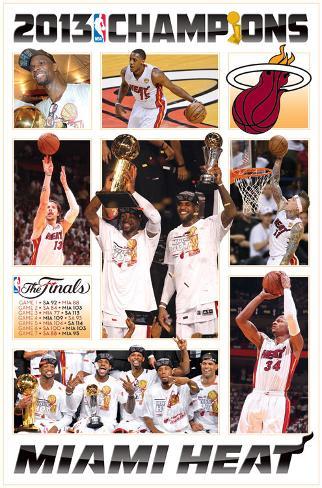 2013 NBA Finals - Celebration Posters at AllPosters.com
