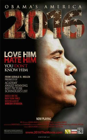 2016: Obama's America Movie Poster Masterprint