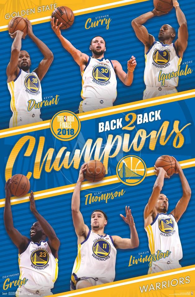 2018 nba finals golden state warriors champions posters at