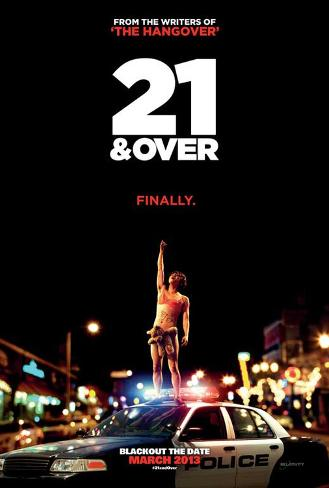 21 and Over Movie Poster マスタープリント