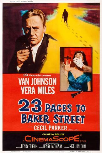 23 Paces to Baker Street Poster