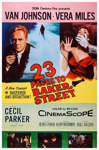 23 Paces to Baker Street ポスター