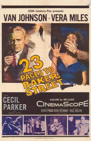 23 Paces to Baker Street Masterprint