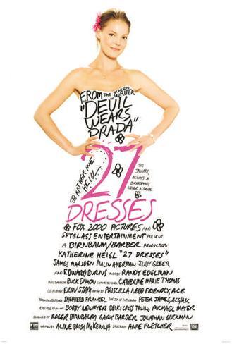 27 Dresses Pôster