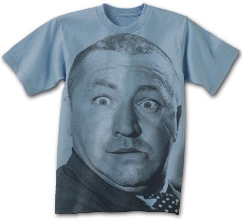 3 Stooges Big Curly T-Shirt