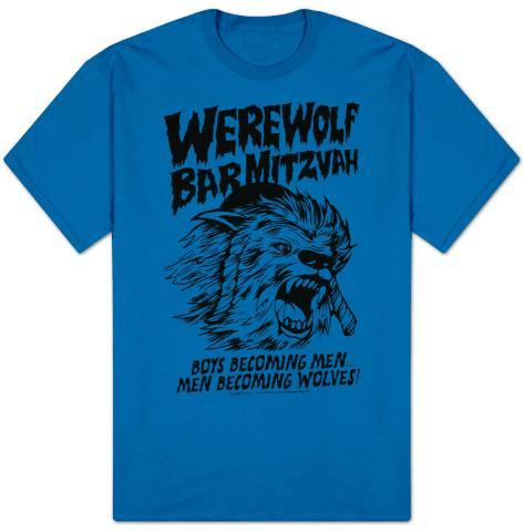30 Rock - Werwolf Bar Mitzvah T-Shirt