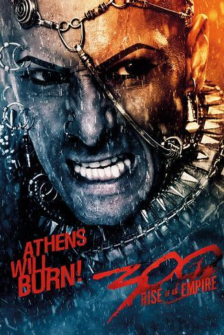 300 Rise of an Empire - Athens Poster