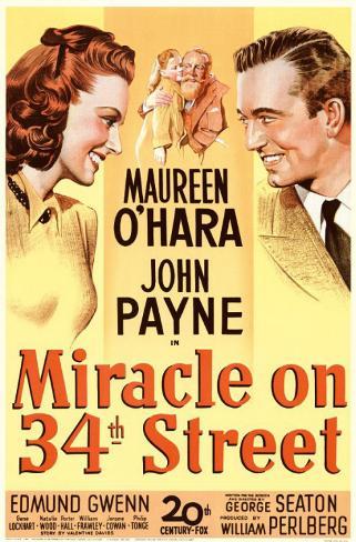 34丁目の奇跡(1994年) マスタープリント