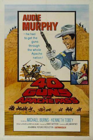 40 Guns to Apache Pass Masterprint