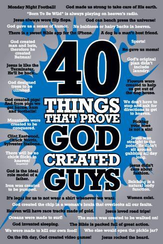 40 Guys Poster