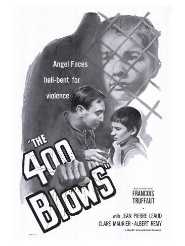 400 Blows, 1959 Art Print