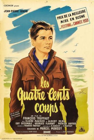 400 Blows - French Style Poster