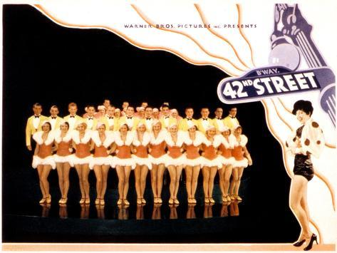 42nd Street, 1933 Poster