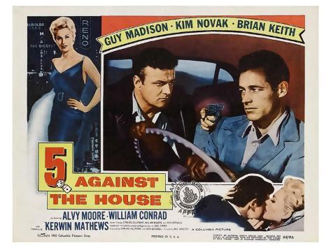 5 Against the House, 1955 Stretched Canvas Print